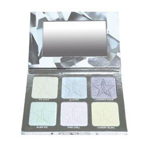 Jeffree Star Platinum Ice Skin Frost Palette !